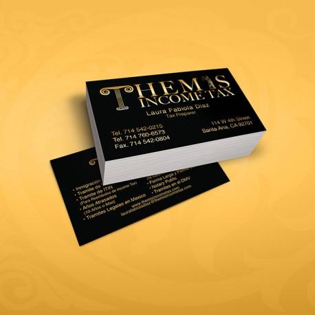 Standard business cards colourmoves